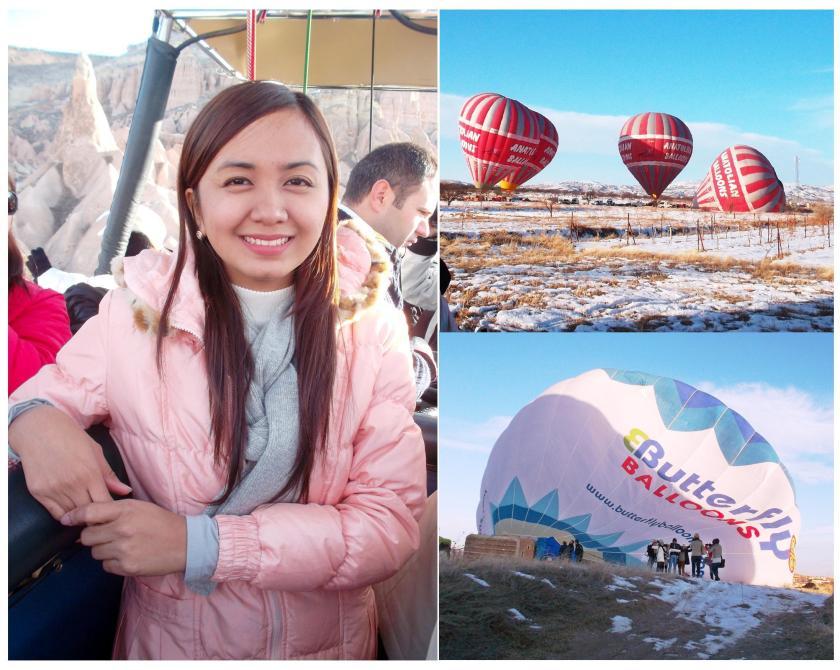 First everrr Hot Air Balloon Ride