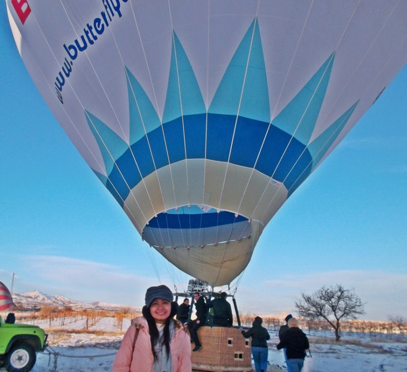 Hot Air Balloon Ride - Valentine's Day 2012
