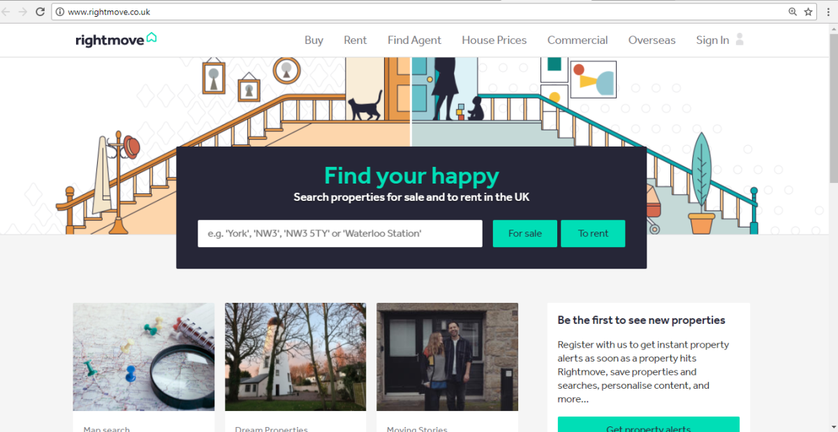 Home Search in London: theBasics